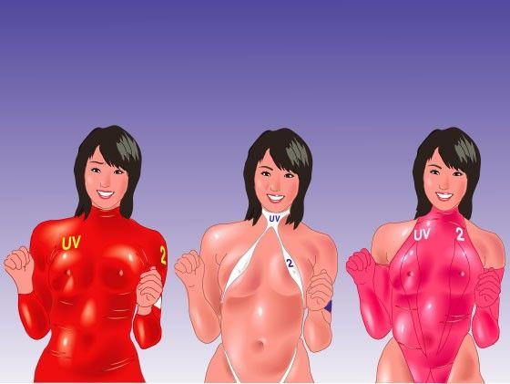 【ワンピース 同人】ビーチバレーの妖精新ユニフォーム試着披露会