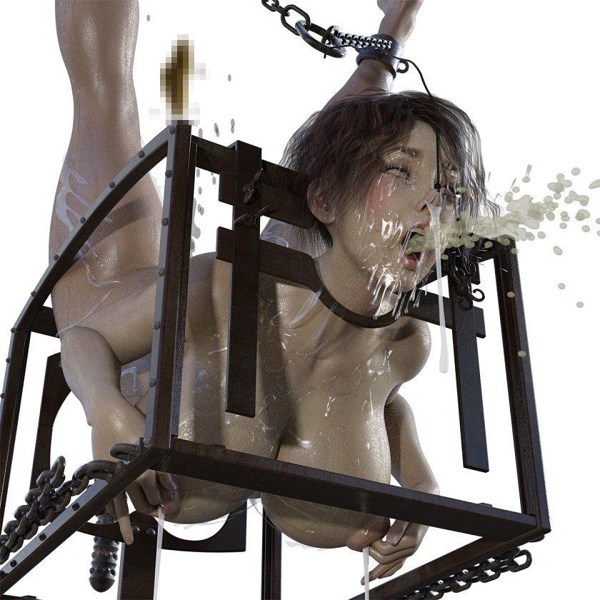 【キンク文庫 同人】乳首拷問女騎士