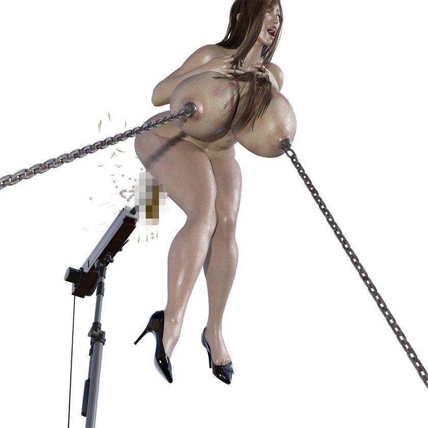 【キンク文庫 同人】リサのニプル串刺し浣腸