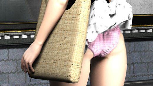【パンティ 同人】(PV:ピンク色のチェック柄パンティ編)駅で遭遇した超絶劇ミニフレアスカート女子大生?が地下鉄の通風口の上に無防備にも仁王立ちだったので風チラを目当てに待っていたら案の定思いっきりパンチラした件。