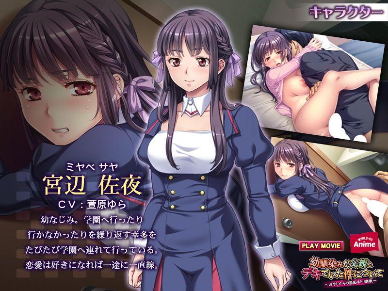 【WorldPG Anime 同人】幼馴染みが父親とデキていた件について~おやじからの羞恥ネトリ調教~PLAYMOVIE