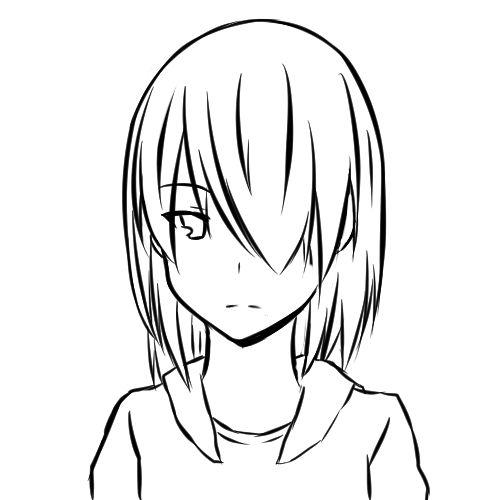 【日本刀流星群 同人】顔の線画4