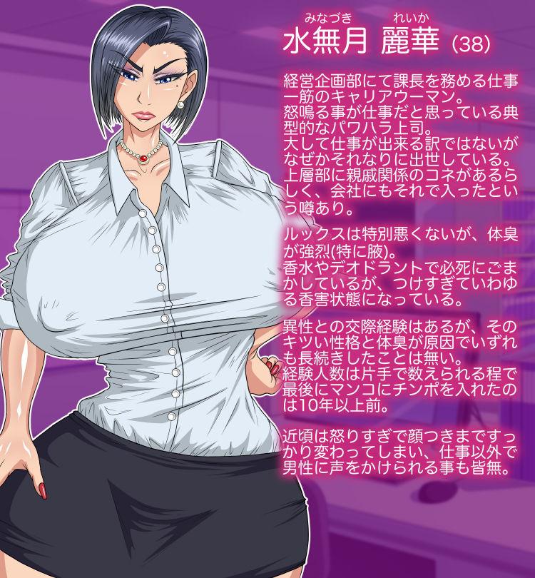 【パン屋のエンツォ 同人】性格(と体臭)のキツいクソ女上司