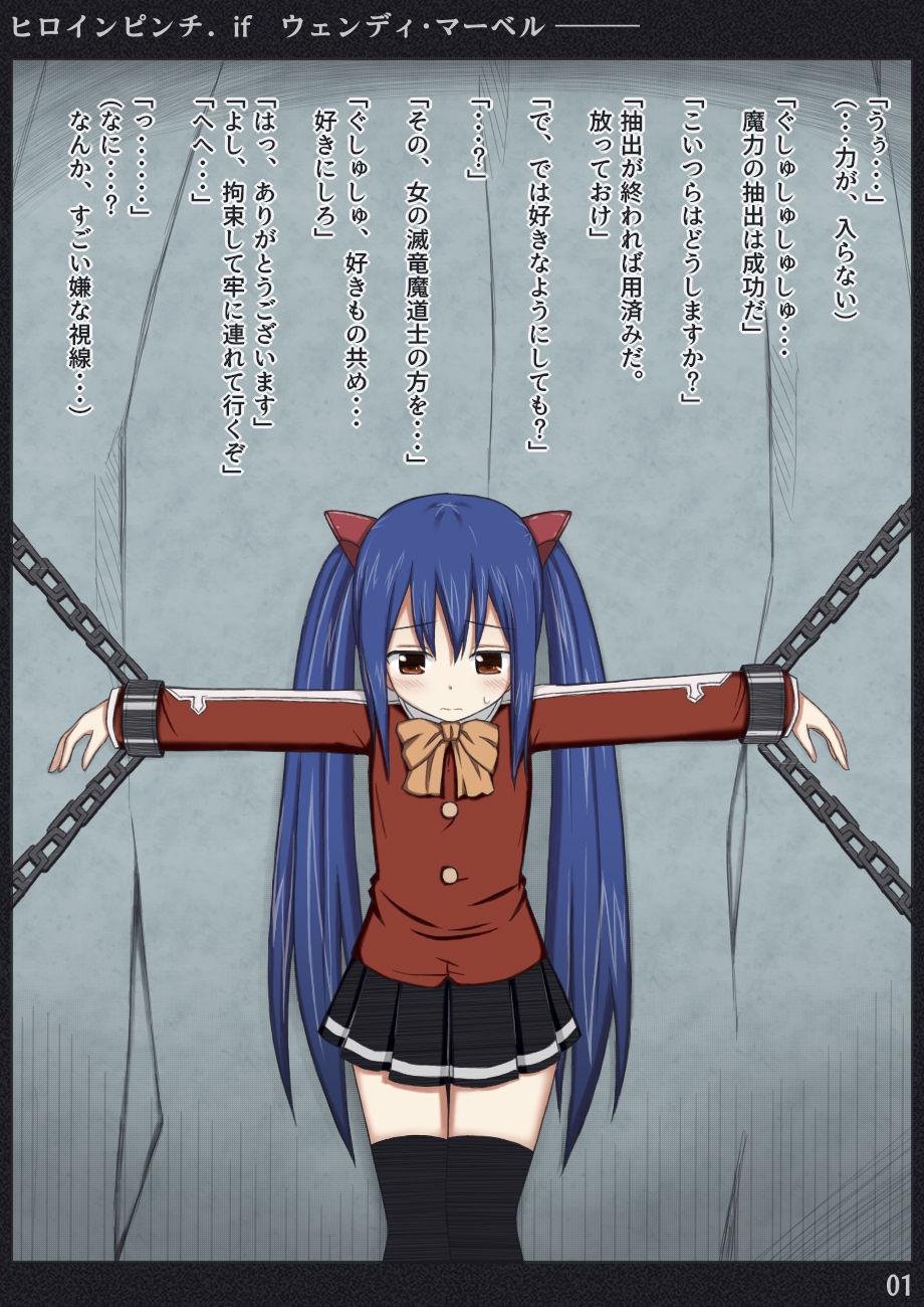 【FAIRYTAIL 同人】ヒロインピンチifvol.01
