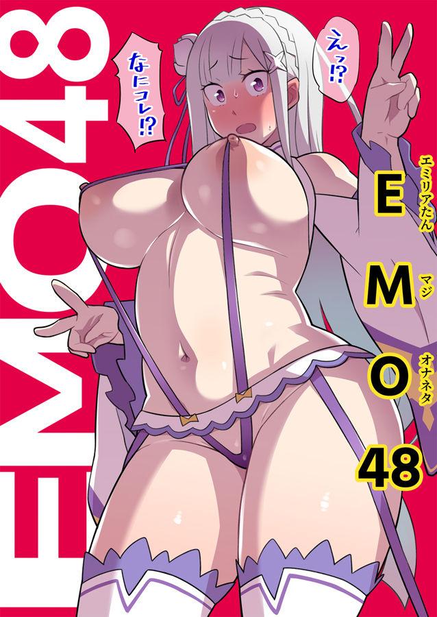 【Re:ゼロから始める異世界生活 同人】こっちの世界に異世界召喚されてハーフエルフがアイドルデビューしたよ!「EMO48」