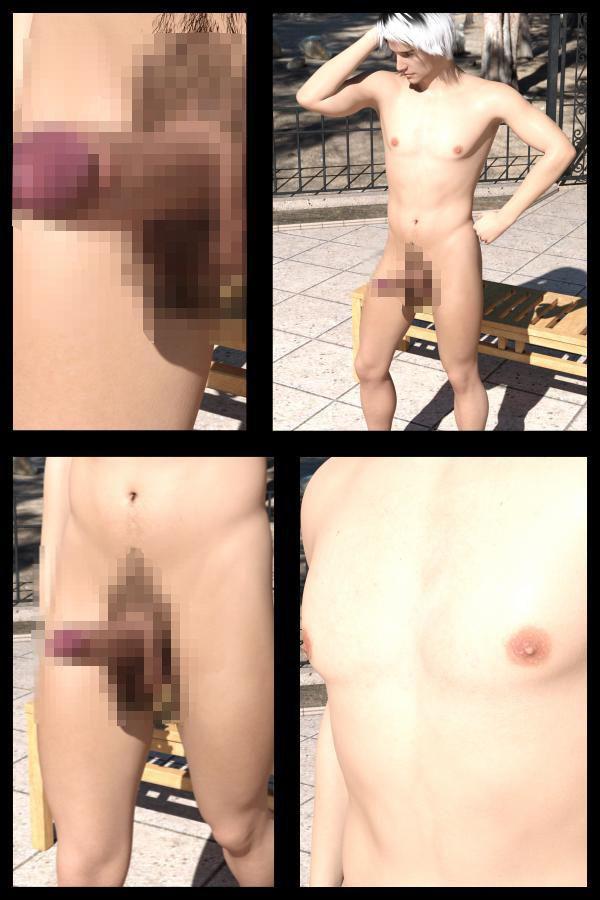 【Libido-Labo 同人】『理想の彼女を3DCGで作ります』から生まれたバーチャル男優「JunYoshino(よしの・じゅん)」のファースト写真集:『Dansei1』