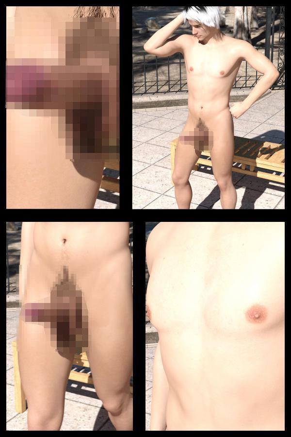 【Libido-Labo 同人】【50●△】『理想の彼女を3DCGで作ります』から生まれたバーチャル男優「JunYoshino(よしの・じゅん)」のヌード写真集デビューについてインタビューする淫乱女性記者