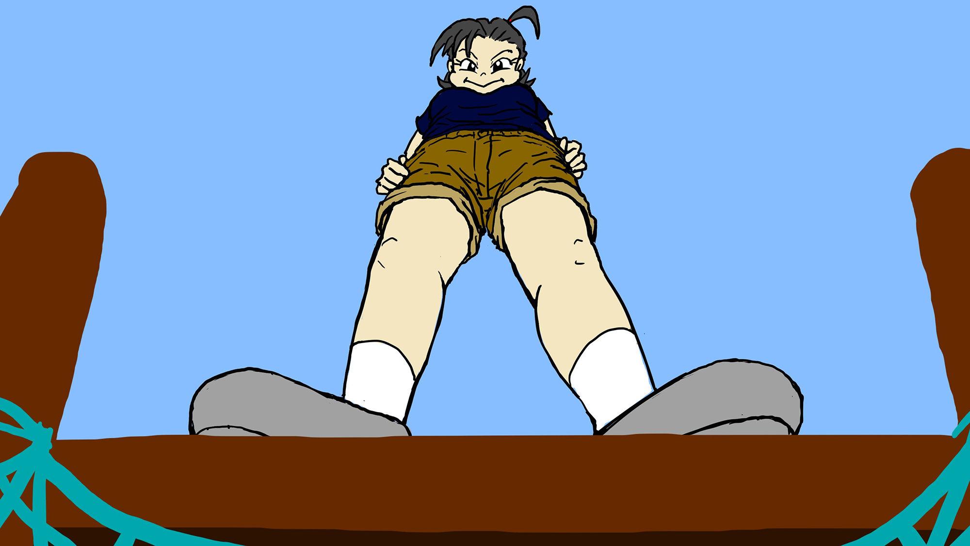 【缶チュー水泳 同人】悪童エミちゃん「年下で遊ぼう!」の巻