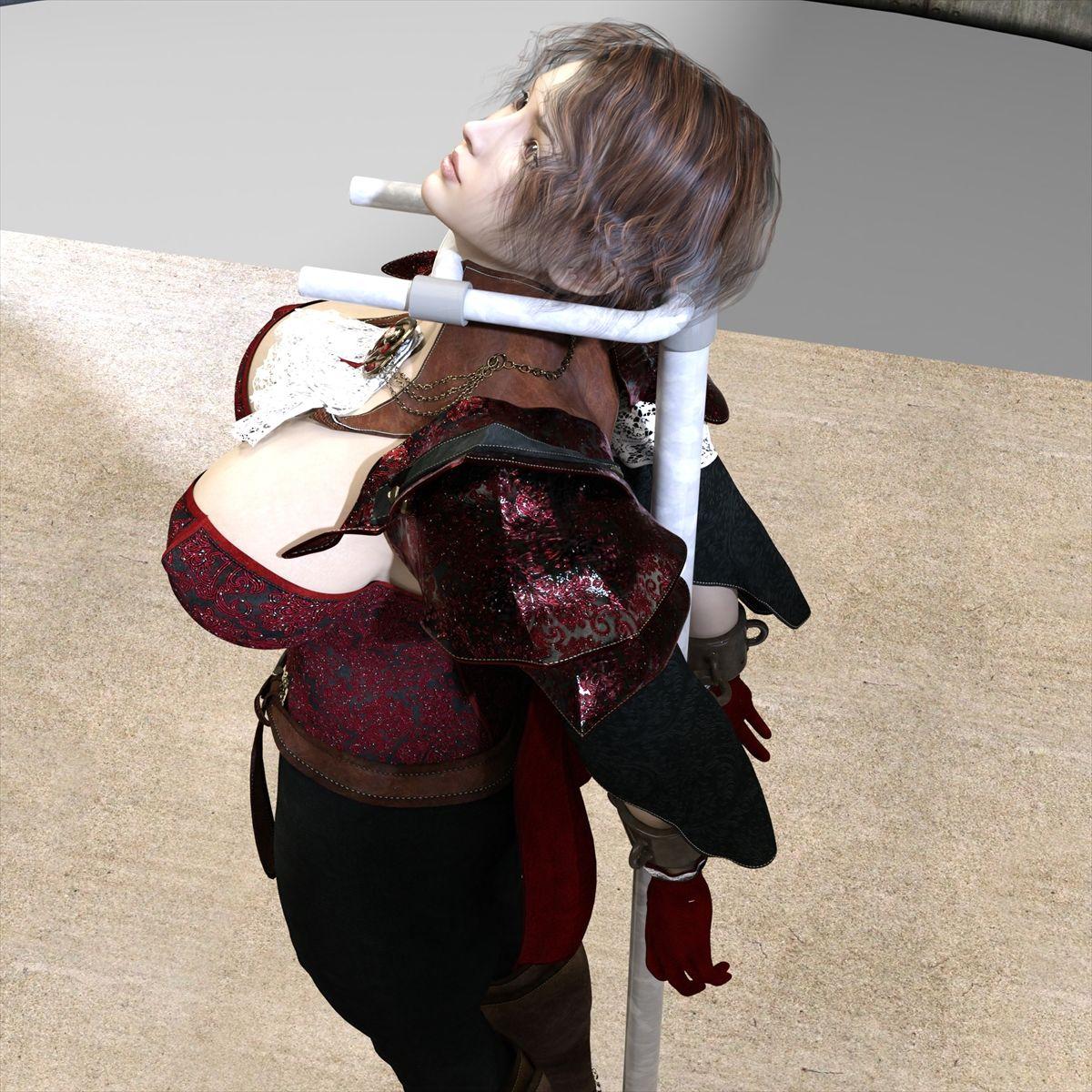【キンク文庫 同人】アナを触手浣腸責め