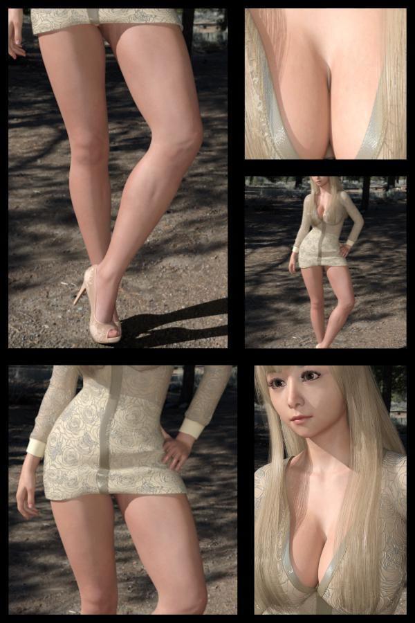 【Libido-Labo 同人】♪『理想の彼女を3DCGで作ります』から生まれたバーチャルアイドル「JerenaYang(ヘレーナ・ヤング)」の26th写真集:Femmefatale26(ファム・ファタール26:運命の女性)