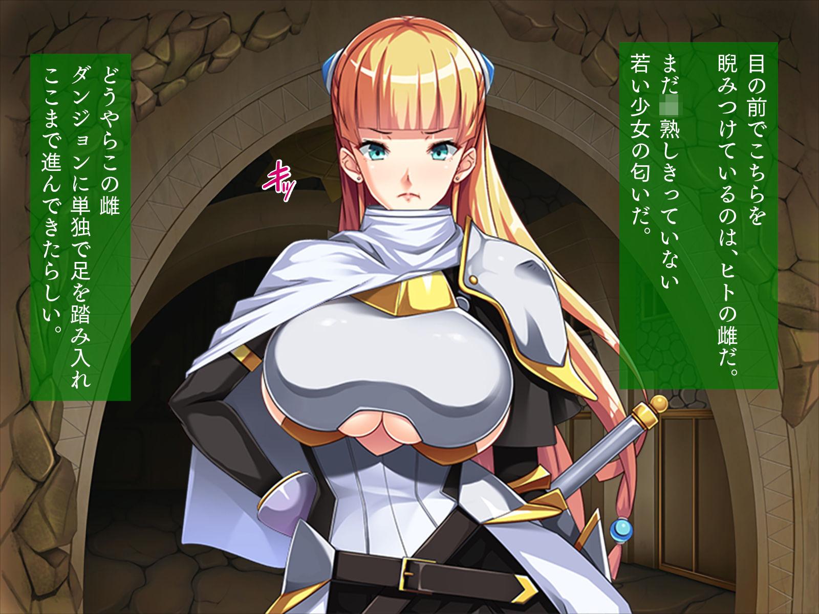 【アイリ 同人】女騎士、オークに目覚める「私はオークが嫌いなはずなのに……」