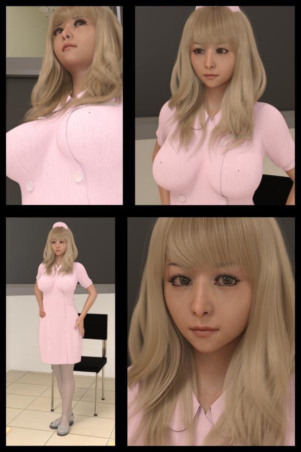 ♪『理想の彼女を3DCGで作ります』から生まれたバーチャルアイドル「Jer...のサンプル画像2