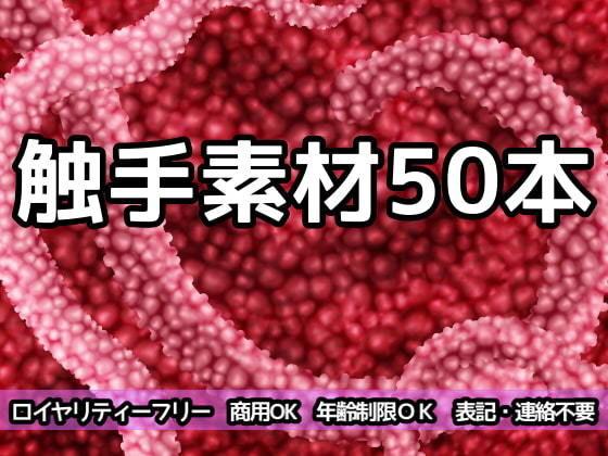 触手素材50本/