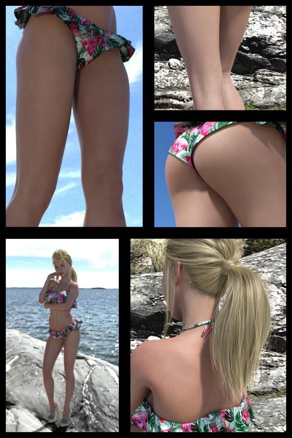 『理想の彼女を3DCGで作ります』から生まれたバーチャルアイドル「水野シルヴィア」の写真集:Sylvia-10(シルヴィア10)1