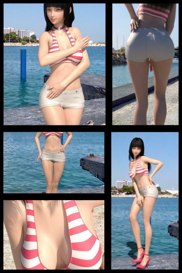 【TD・All】『理想の彼女を3DCGで作ります』から生まれたバーチャルアイドル「黒崎沙耶」の写真集:Saya-05サヤ051