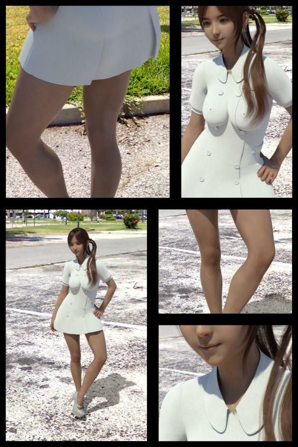 【▲All】『理想の彼女を3DCGで作ります』から生まれたバーチャルアイドル「Meguri(めぐり)」の写真集:Meguri-011