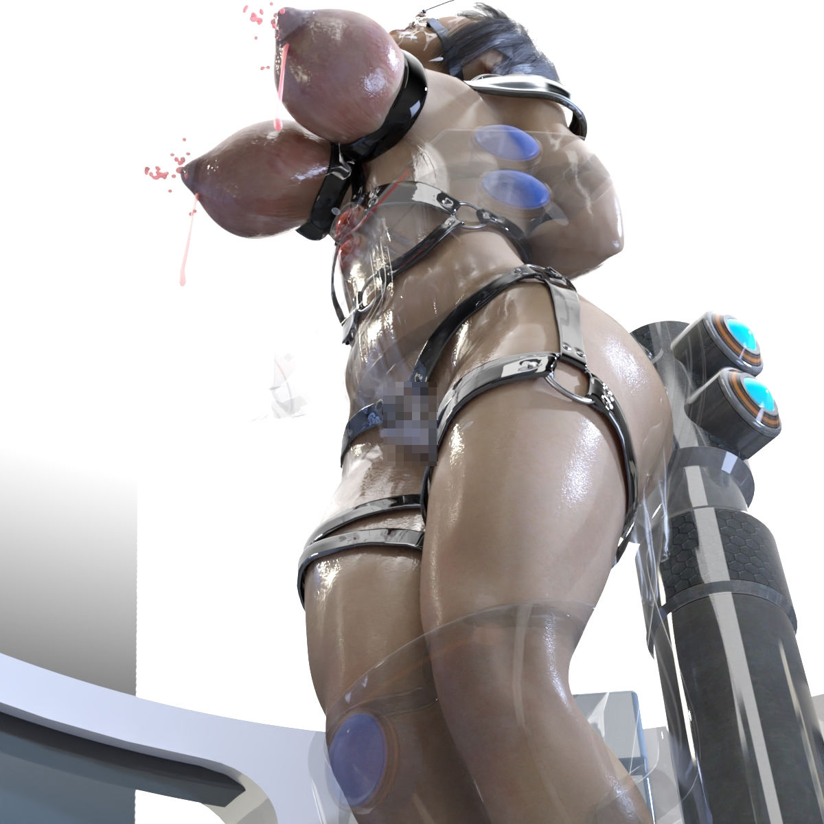 朱里のSF制服拷問のサンプル画像6