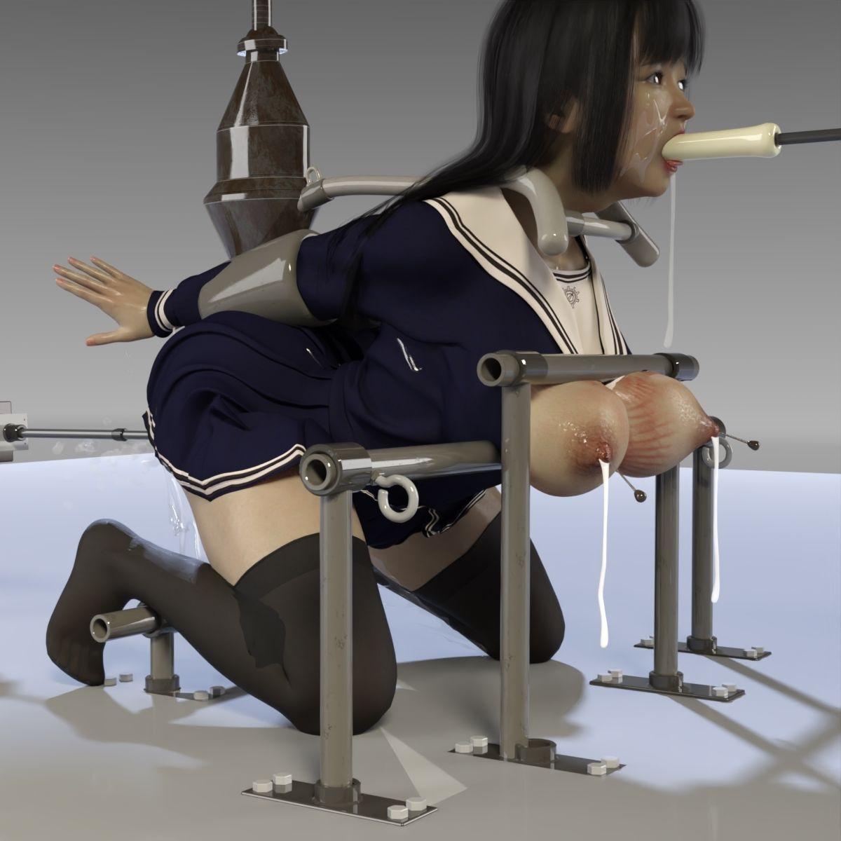 朱里のSF制服拷問のサンプル画像7