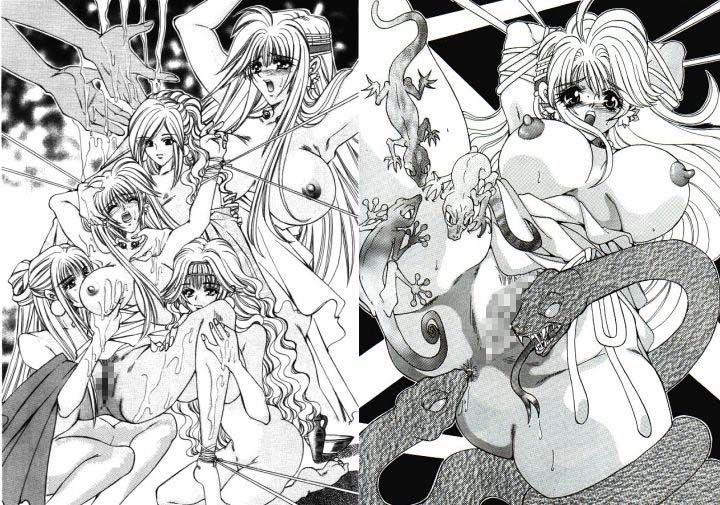 【可憐 同人】邪教淫獄に散る聖戦の姫姉妹