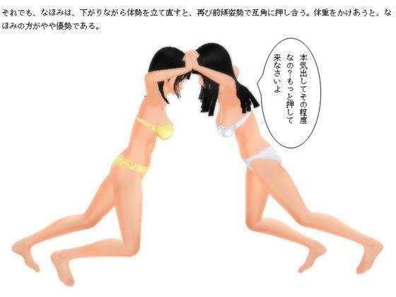 【ヒロワークス 同人】同級生因縁の再会キャットファイト