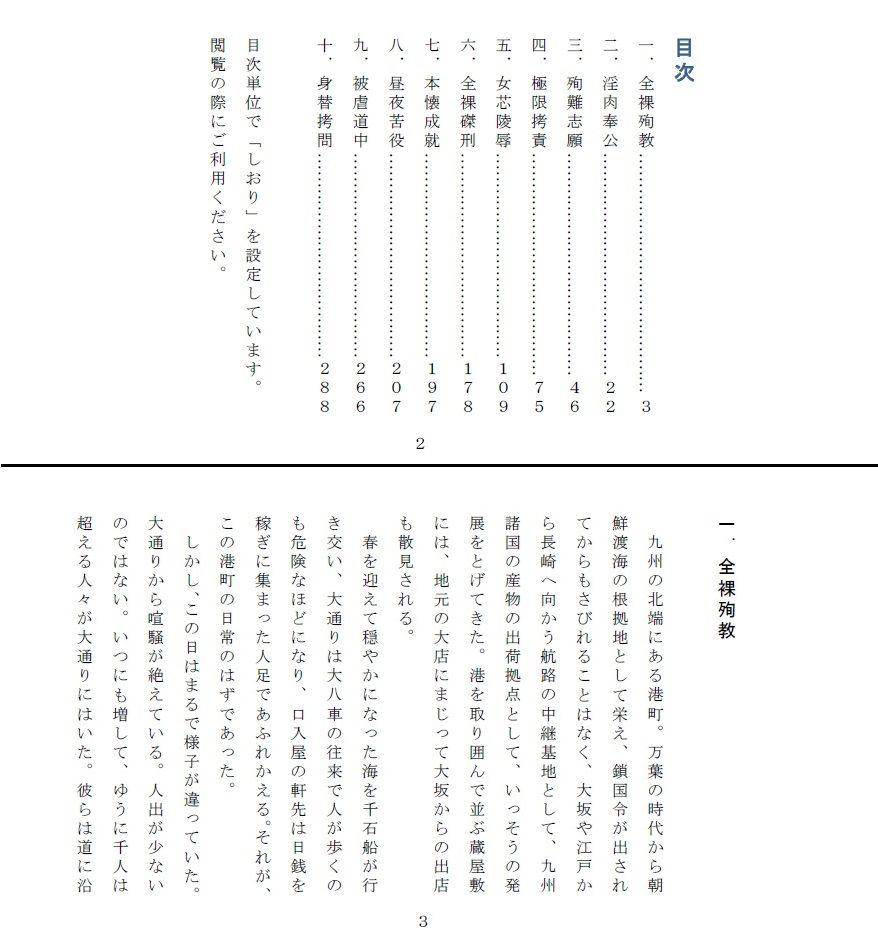 【SMX工房 同人】偽りの殉難~香世裸責め