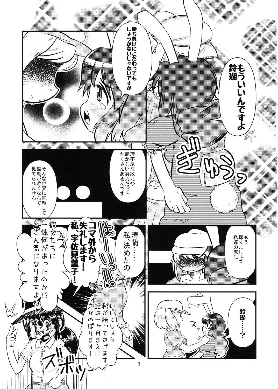 【メタグロスタイガー 同人】鈴瑚と鈴仙のブレークアウト・プロトコル