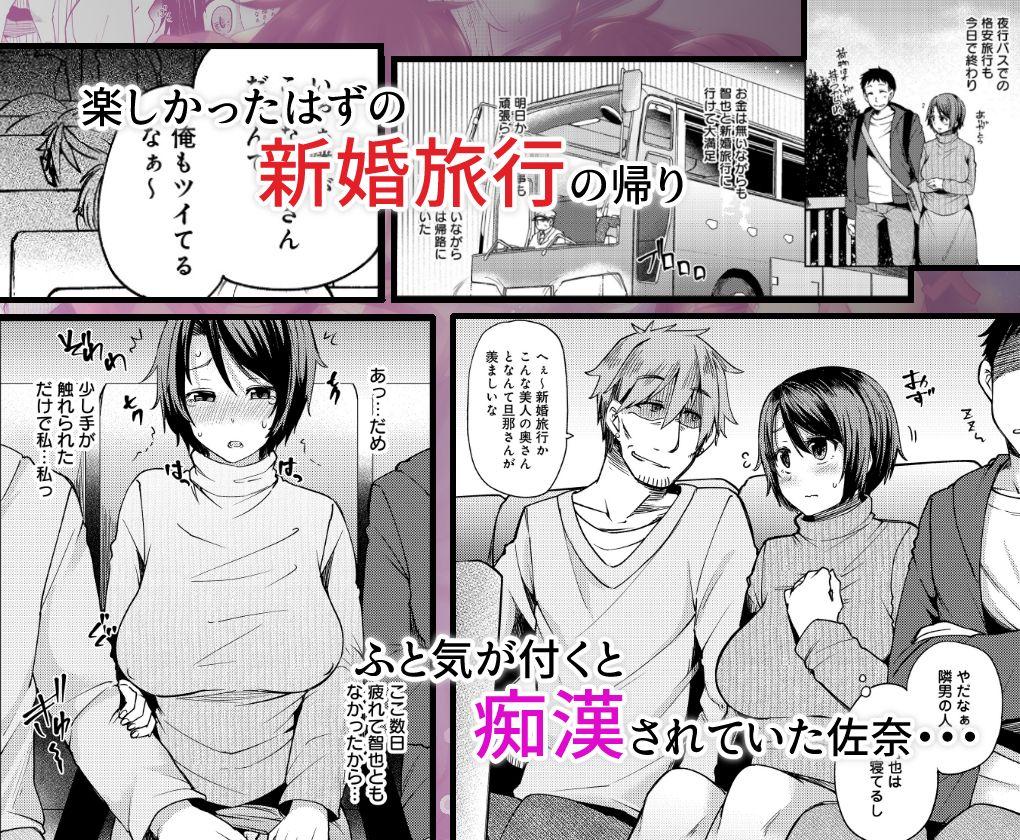 【ありぃすいべりぃ 同人】夜行バスで痴漢されて寝取られた妻