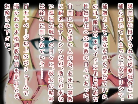 【アリシア 同人】姫王アリシア~捕縛そして調教へ~
