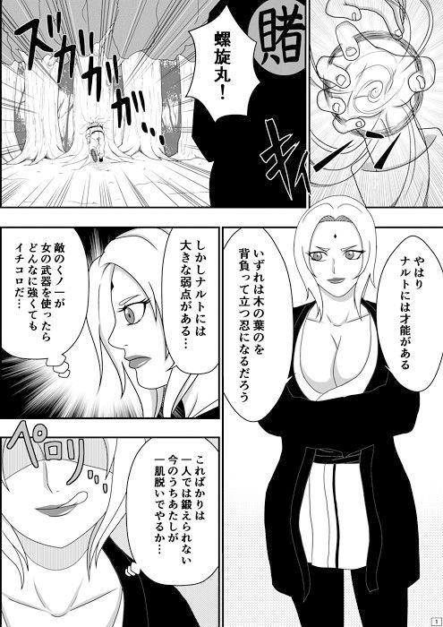【綱手 同人】ツナデの性教育
