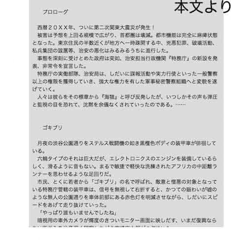 【出羽健書蔵庫 同人】secretpolice海猫03