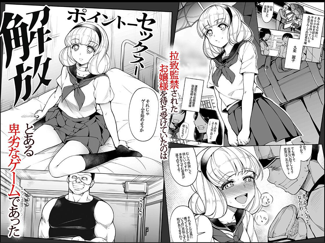 【いぬかめ堂 同人】監禁令嬢~脱け出すためにプライドを捨て痴態の限りを尽くす~