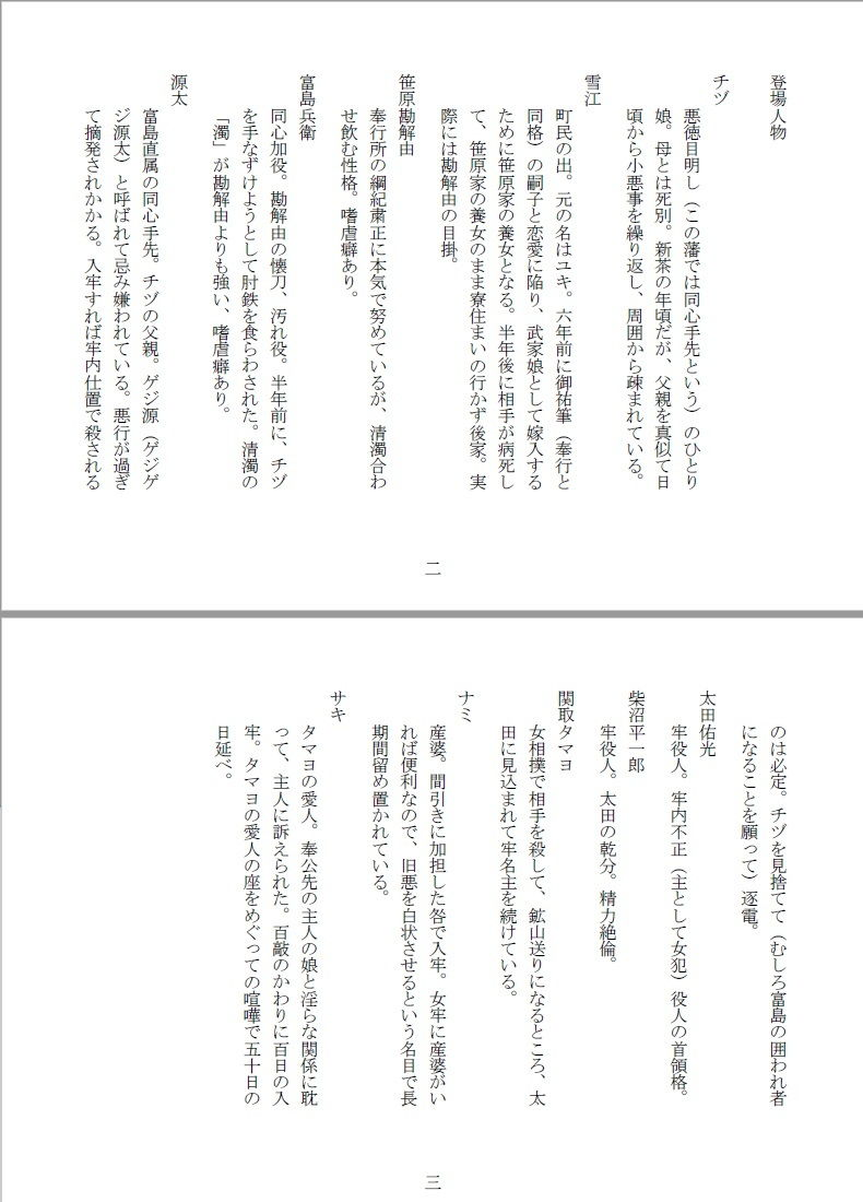 【SMX工房 同人】女囚双虐:箱入目掛と極道生娘