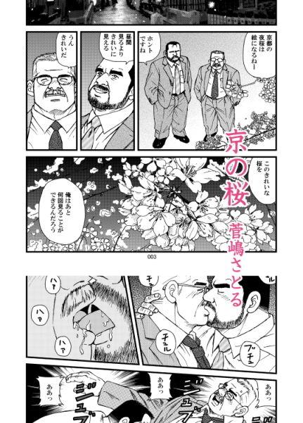 【アクア 同人】ダディーズ・ガーデンSS「05京の桜」「06アクアブルーの休日」