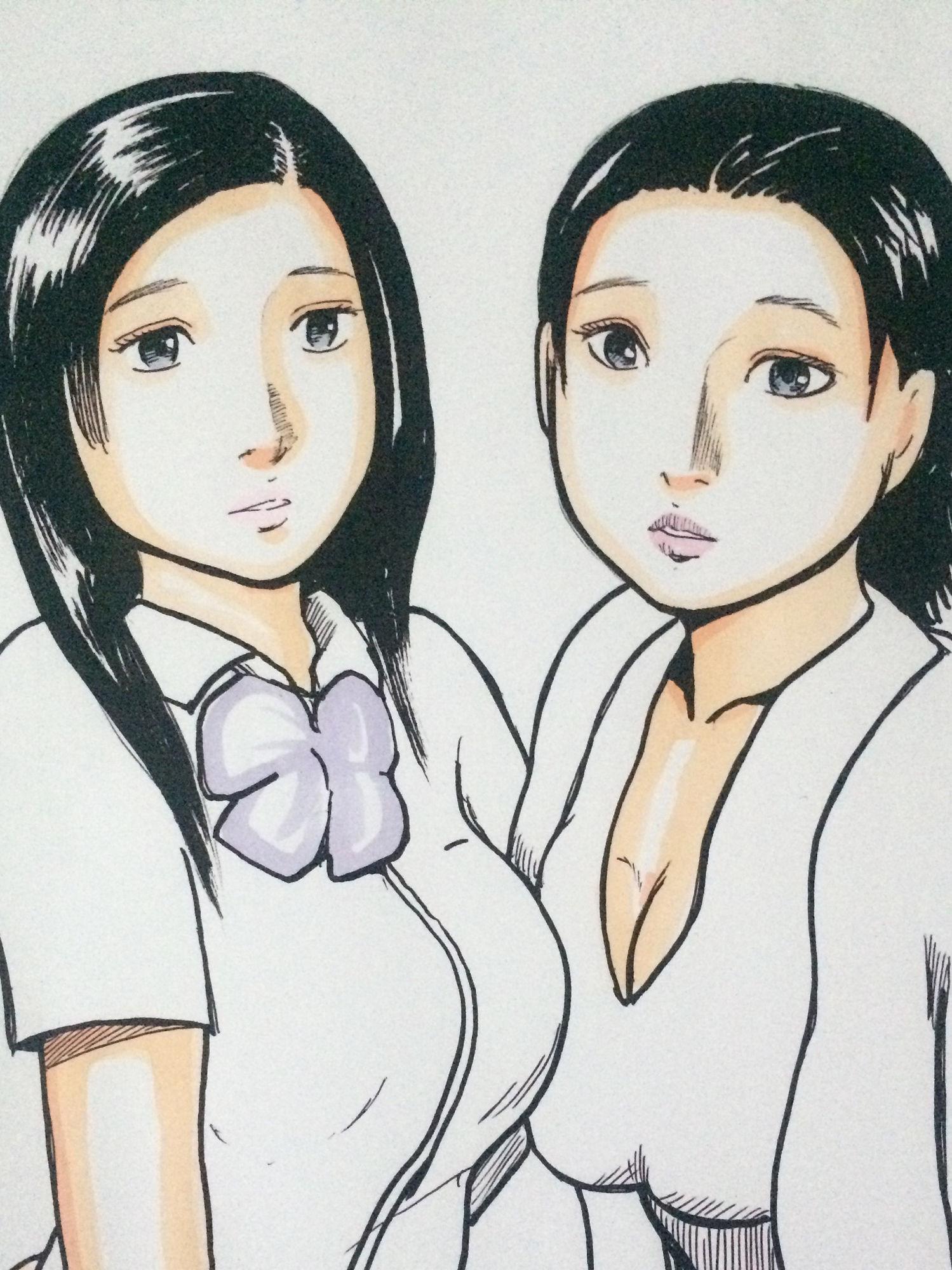 【N-zumi-ha 同人】母娘に性教師
