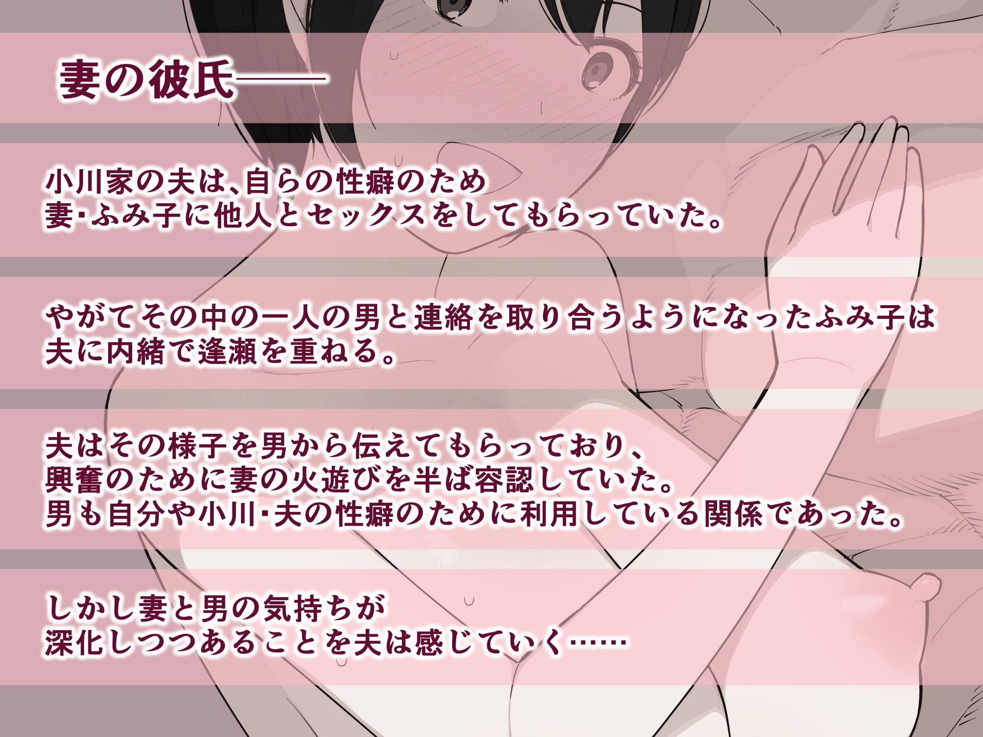 【NTロボ 同人】愛妻、同意の上、寝取られ3~小川家の場合~