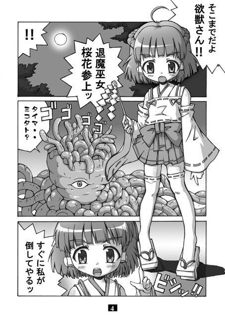 【グループI・N 同人】退魔巫女桜花