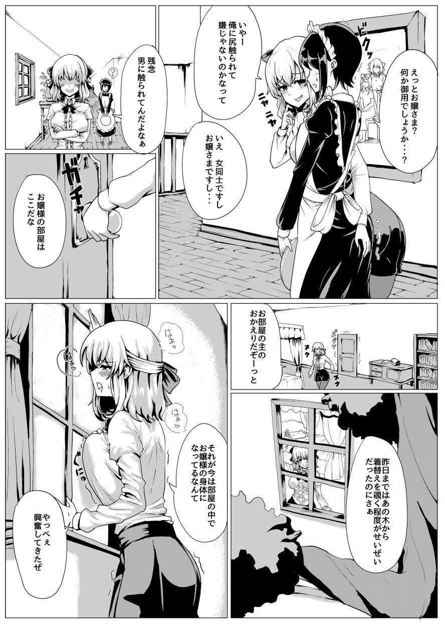 『お嬢さま入れ替わり/tsuniverse』 同人誌