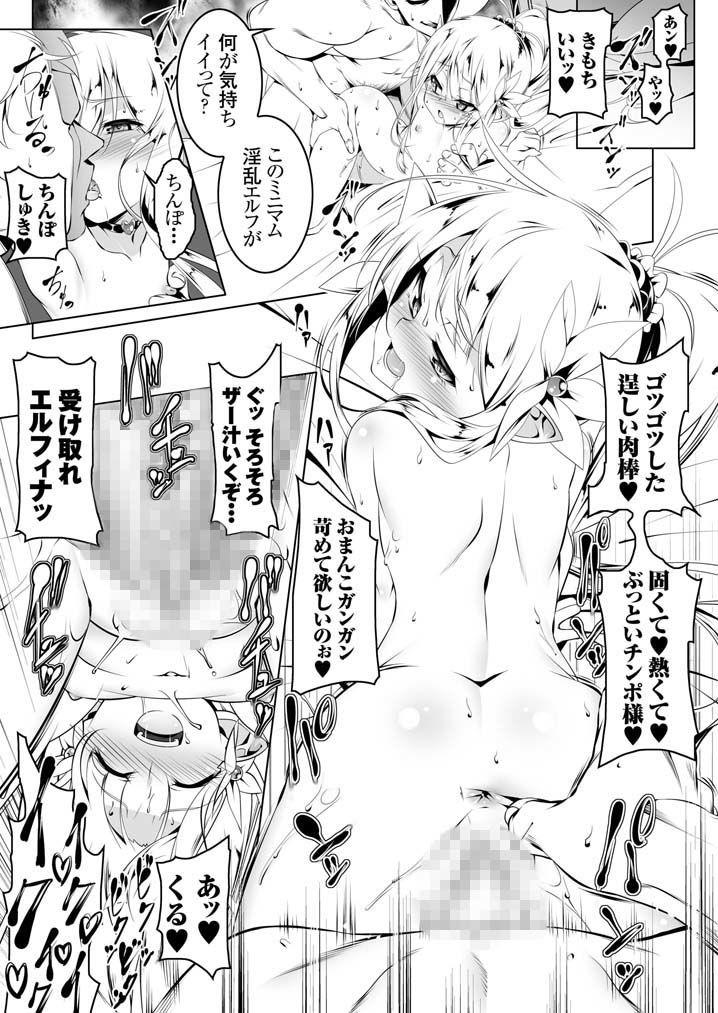 FANZA 同人【恍惚の騎士エルフィナ2】