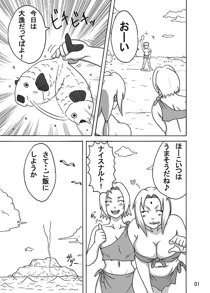 【綱手 同人】ジャングル総集編DL版