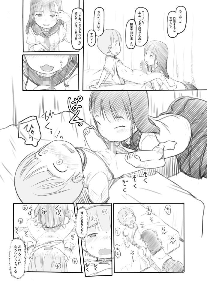 FANZA 同人【おねショタセックス実習】