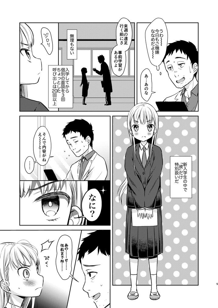 【コデインガール 同人】TS少女ハルキくん