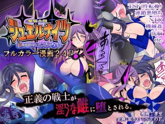【TS悪堕ち】聖騎士団ジュエルナイツ~闇に染まる紫水晶と青玉~
