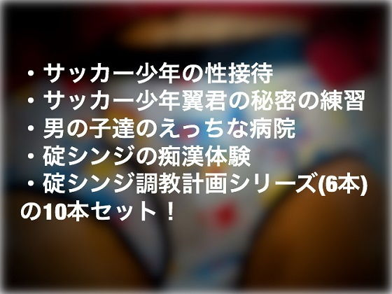 【新世紀エヴァンゲリオン 同人】【ショタ系10本】ショタ祭りパック!