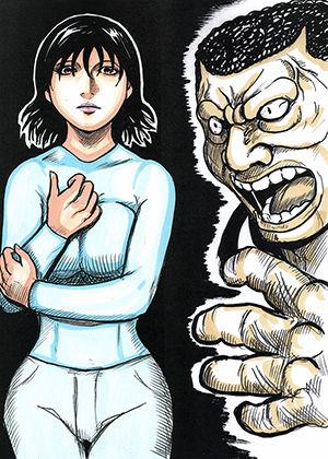 強者妻と凶暴男