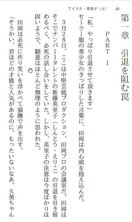 【myuyan 同人】アイドル・英里子(上)~羞恥露出調教~