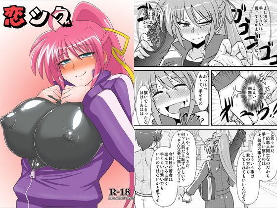 【同人コミック】リリカルなのは・シグナム本「恋シグ」