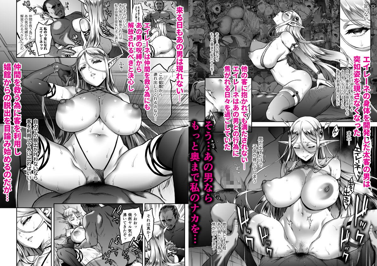 FANZA同人【黄昏の娼エルフ5-娼婦にされた気高きハイエルフ3】