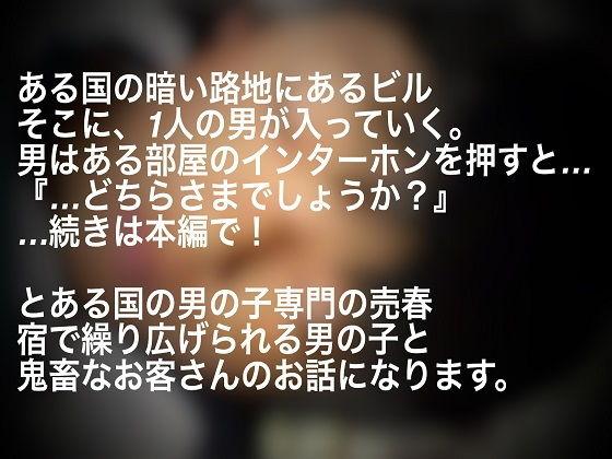 【あおはる 同人】男の子専門売春宿~初対面編~