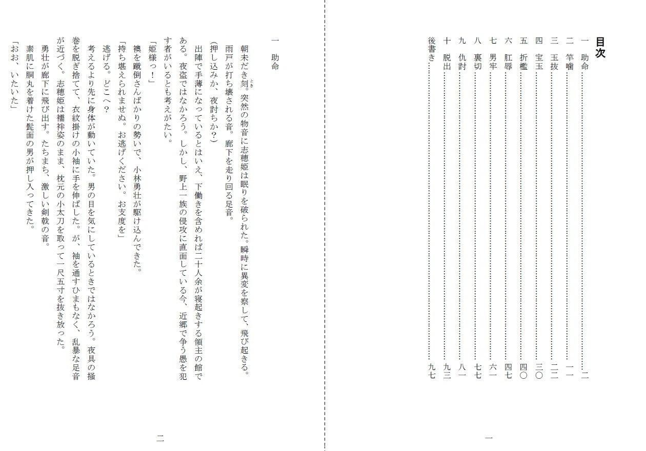 裸囚姫牢虐譚のサンプル画像2