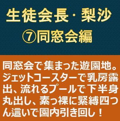 生徒会長・梨沙 7 ~同窓会編~